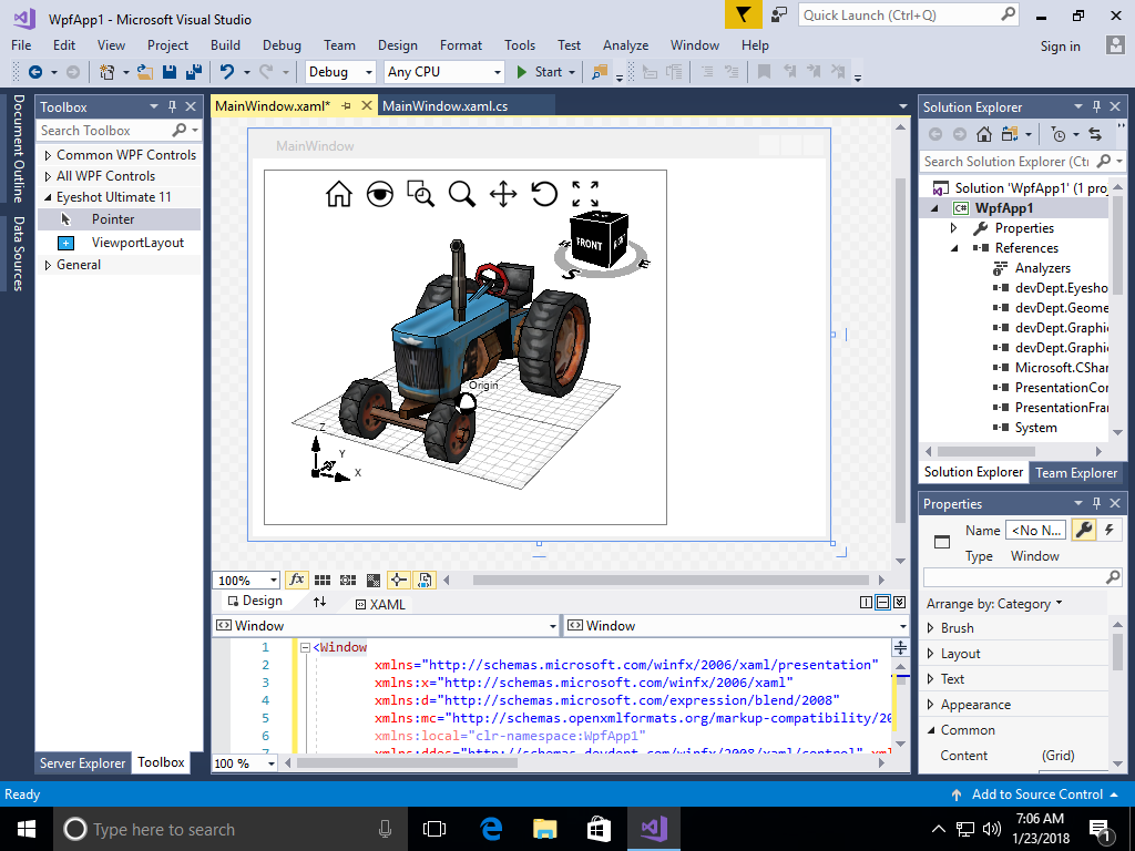 3d tools wpf example