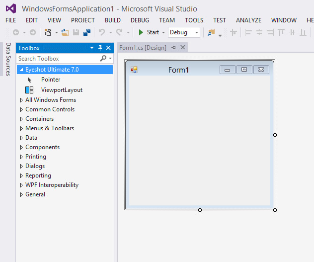Manually installing Eyeshot to Visual Studio Toolbox